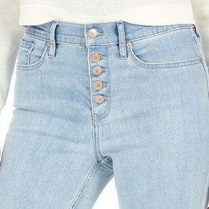 """CK Calvin Klein Button Fly Jeans 10.5"""" Front rise"""